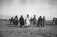 Bell Box 2/22 Ibn Saud and other officials and dignitaries, Basra 1916