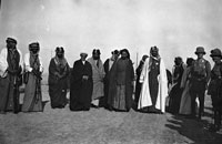 Bell Box 2/23 Ibn Saud and other officials and dignitaries, Basra 1916