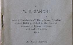 Gandhi, Hind Swaraj