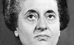 Indira Gandhi 1977