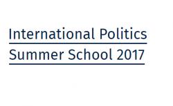 International politics summer school