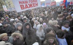 RESC pro-Putin protest