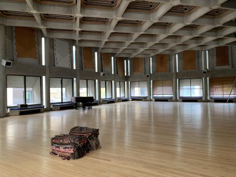 Hilda Besse hall packed up for renovations