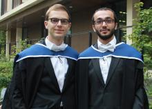 Bassam Gergi and Jalal Imran, MPhil Politics (Comparative Government) 2014