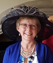 Colour headshot of Jane Baker
