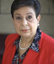 Profile picture of Dr Hanan Ashrawi.