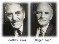 Geoffrey Lewis and Roger Owen - some of the earlier Fellows of the Middle East Centre
