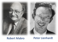 Robert Mabro and Peter Lienhardt - some of the earlier Fellows of the Middle East Centre