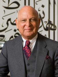 Nemir Kirdar founding CEO of Investcorp group and funder of Investcorp Building of the MIddle East Centre, St Antony's College