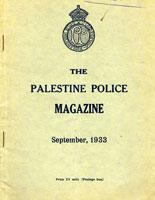 Palestine Police Magazine