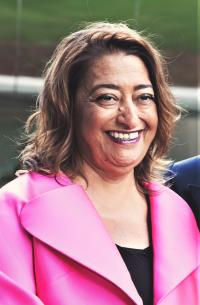 Dame Zaha Hadid at the Investcorp Building opening May 2015