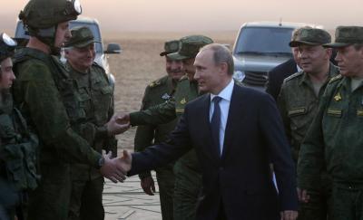 Putin Syria Soldiers